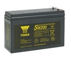 12V/6,2Ah Yuasa Blybatteri SW200