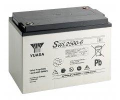 6V/184Ah Yuasa Blybatteri SWL2500-6FR