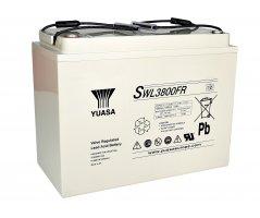 12V/135Ah Yuasa Blybatteri SWL3800FR