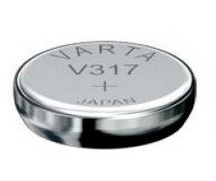 V317 Sølvoxid Knapcelle batteri Varta