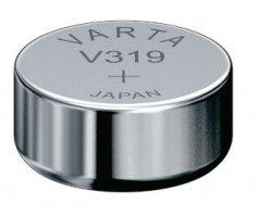 V319 Sølvoxid Knapcelle batteri Varta