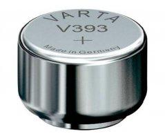 V393 Sølvoxid Knapcelle batteri Varta