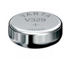 V329 Sølvoxid Knapcelle batteri Varta