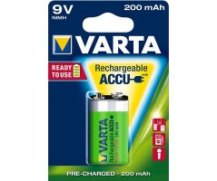 Varta batteri 9V genopladelig Ready2Use