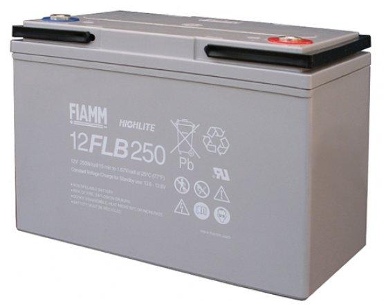 12V/70Ah FIAMM 12 års Blybatteri UPS 12FLB250