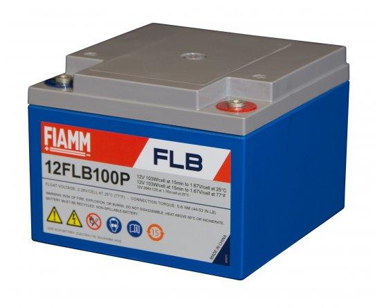 12V/26Ah FIAMM 12 års Blybattery UPS 12FLB100