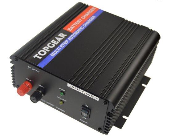 Oplader til blybatterier 2-trins 12V/50A
