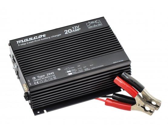 Blylader 12V/20A 230VAC desktop model