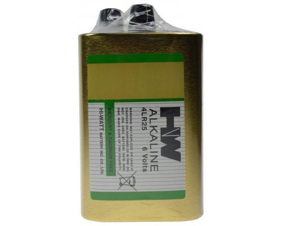 4LR25 Alkaline batteri Hi-Watt PC908 m/fjeder