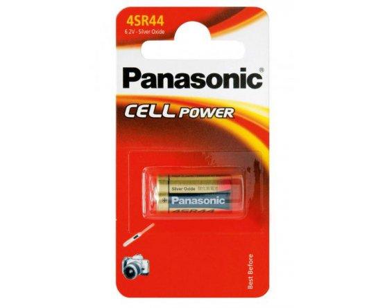 Sølvoxide 4SR44 Panasonic batteri PX28L L544