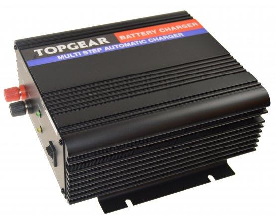 Oplader til blybatterier 2-trins 12V/25A