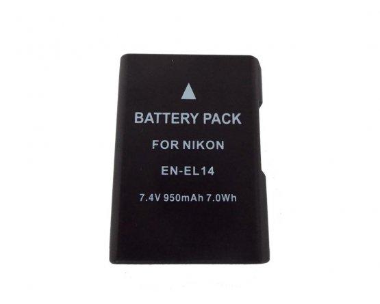 Nikon DSLR D3100 batteri EN-EL14