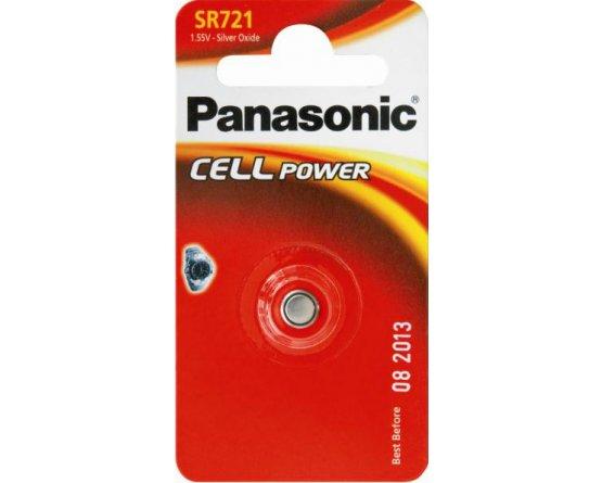 SR721 Sølvoxid Knapcelle batteri Panasonic