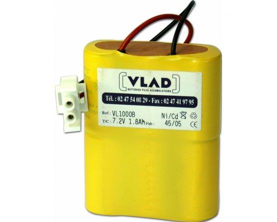 Braun perfusor 7,2V batteri BRA135 - 120009