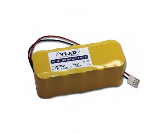 Batteripakke 12V infusion pump Argus 414 Codan