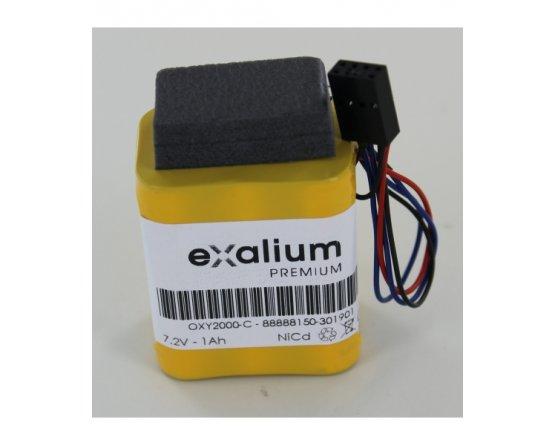 Dräger Oxylog 2000 medico batteripakke OXY2000-C