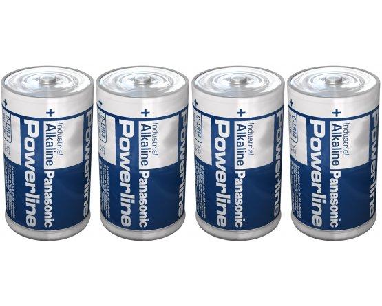 LR14/C-size Powerline batteri/4pak