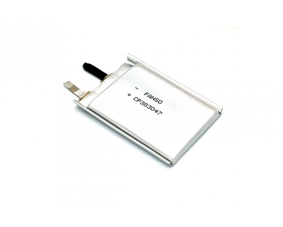 Fanso 3V lithium batteri 1350mAh ultra tynd