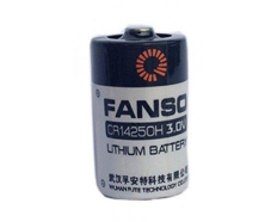 Fanso 3V lithium 1/2AA batteri 850mAh Li-MnO2