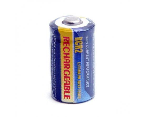 CR2 opladeligt Foto batteri