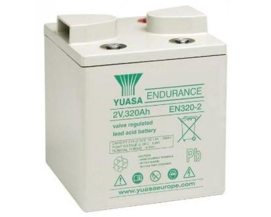 2V/345,6Ah Yuasa Blybatteri EN320-2