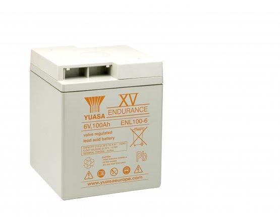 6V/108Ah Yuasa Blybatteri ENL100-6