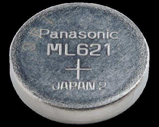 ML621S Panasonic Lithium knapcelle