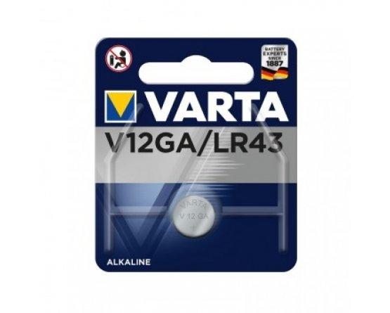 LR43 Varta Alkaline Knapcelle batteri G12