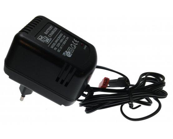 Oplader til blybatterier 6V/0,5A