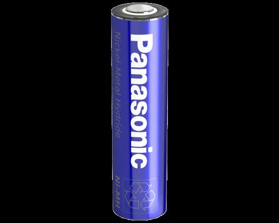 Panasonic NiMH A batteri Flad Top
