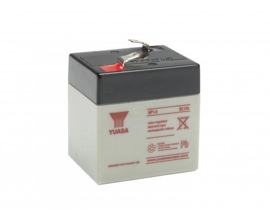 6V/1Ah Yuasa Blybatteri NP1-6