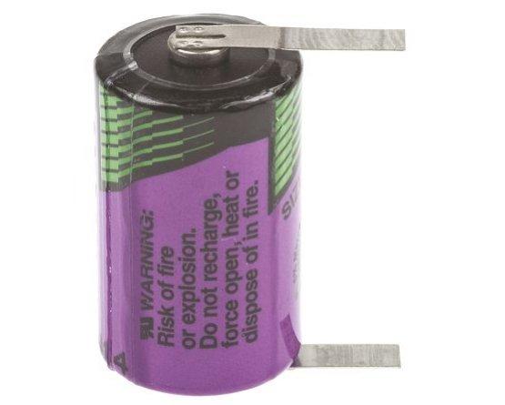 Size 1/2AA Tadiran 3,6V Lithium 2+1pins