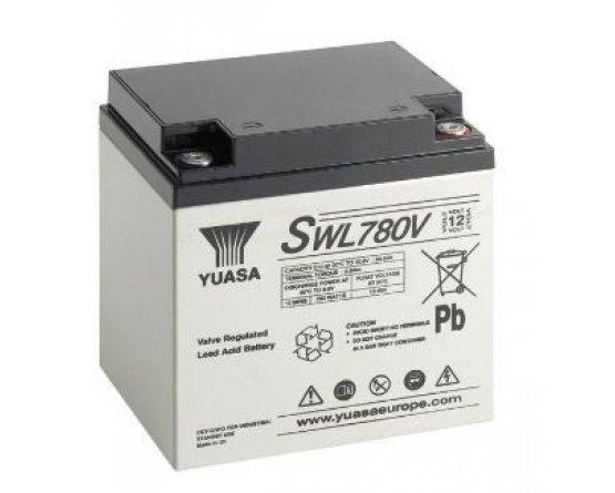 12V/28,2Ah Yuasa Blybatteri SWL780VFR