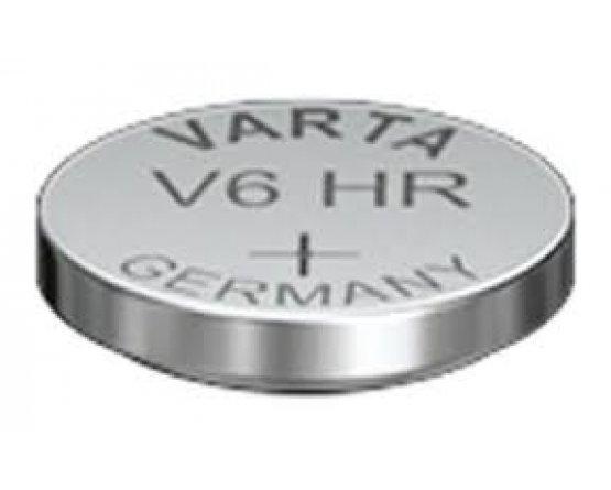 V6HR knapcelle genopladelig NiMH Varta