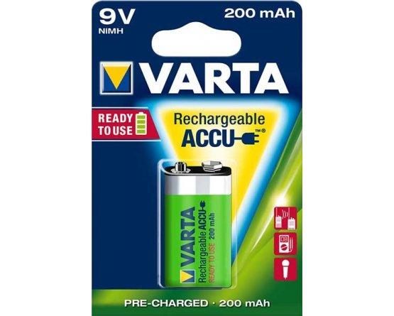 Varta batteri 9V genopladelig Ready2Use