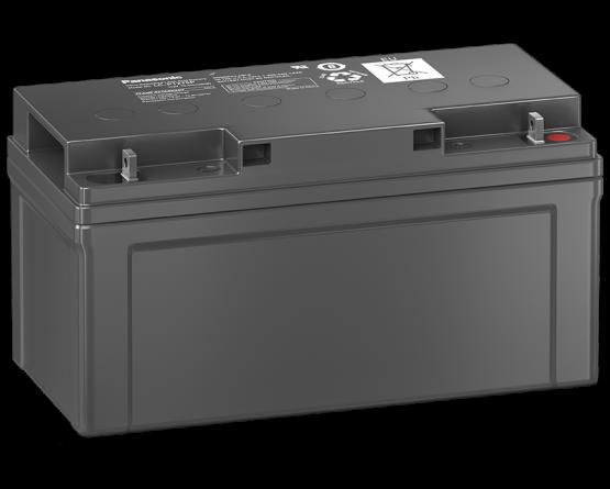12V/75Ah Panasonic Blybatteri 10-12år LC-P1275P