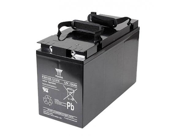 12V/165,6Ah Yuasa Blybatteri FXH155-12IFR