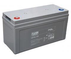 12V/120Ah FIAMM 10 års Blybatteri 12FGL120