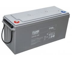 12V/150Ah FIAMM 10 års Blybatteri 12FGL150