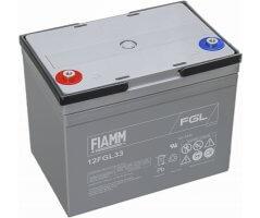 12V/33Ah FIAMM 10 års Blybatteri 12FGL33