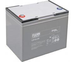 12V/80Ah FIAMM 10 års Blybatteri 12FGL80
