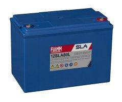 12V/80Ah FIAMM SLA Blybatteri 12SLA80L