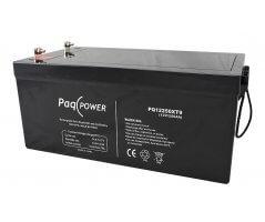 12V/250Ah PaqPOWER Blybatteri 10 års T9 terminal