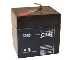 6V/1Ah Blybatteri CTM FP610