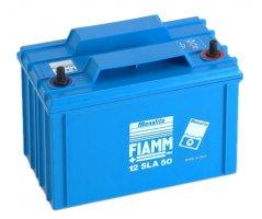 12V/50Ah FIAMM Blybatteri 12SLA50L