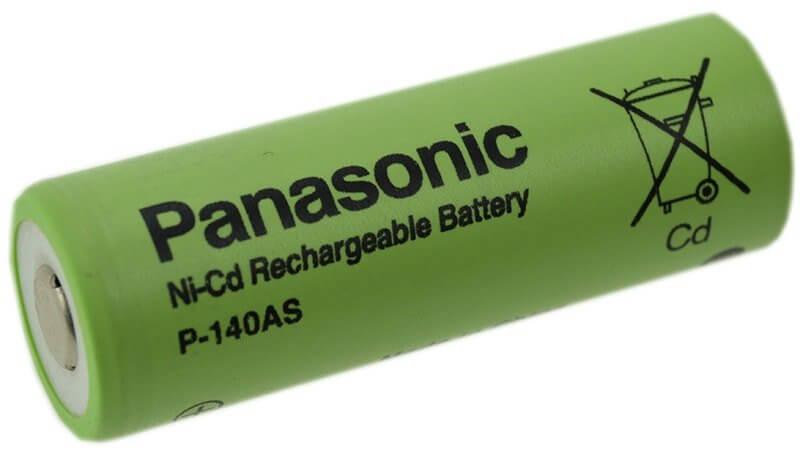 A Accu Ni-Cd batteri 17x50mm