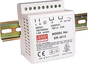 Strømforsyning AC/DC 12V/3,5A