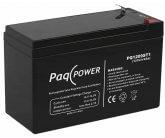 12V/9Ah PaqPOWER Blybatteri 5 års T2