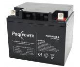 12V/40Ah PaqPOWER Blybatteri 10 års T11