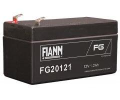 12V/1.2Ah FIAMM 5 års Blybatteri FG20121